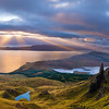 The Isle of Skye at sunrise.  Emmanuel Couple just won Landscape Photographer of the Year in the UK for this photo.
