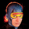 "Josh Lawson, SmugMug Support Hero, as ""Cyclops"""