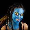 "Denise as ""Neytiri"" from Avatar"