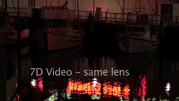 Testing video on the new Canon 7D