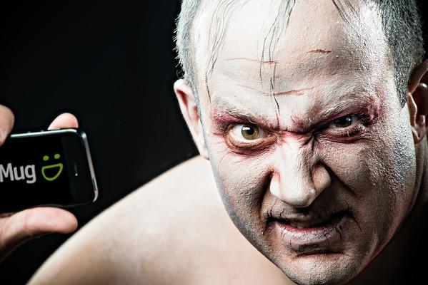 Erik Giberti, Smug Sorcerer, as Gollum